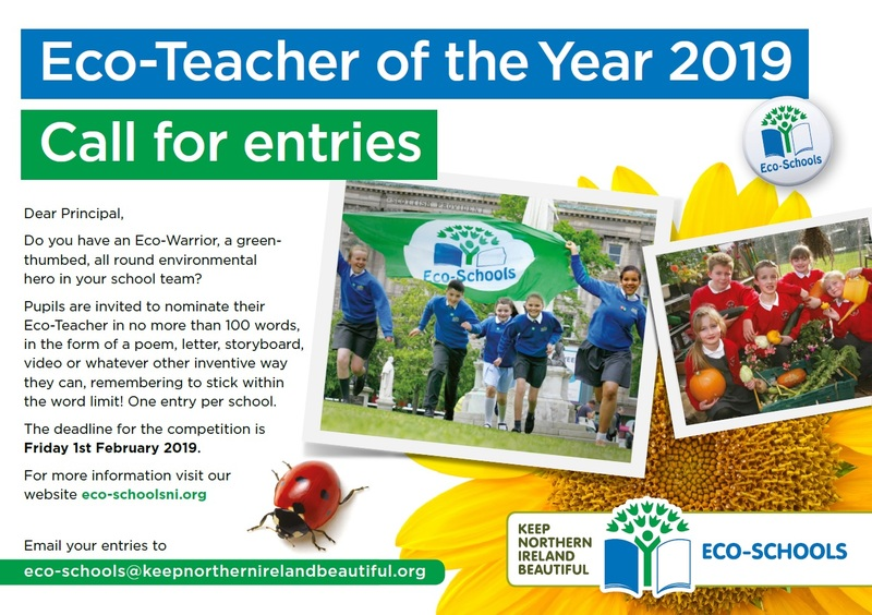 Eco-Teacher of the YEar 2019