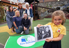 It's a family affair at Downpatrick Nursery School in another record breaking year for Green Flag Eco-Schools -- news item graphic